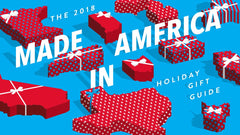 The 2018 Made in America Holiday Gift Guide logo