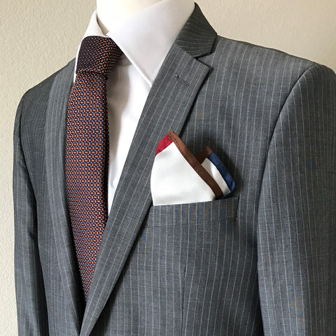 Bust with Necktie and pocket square