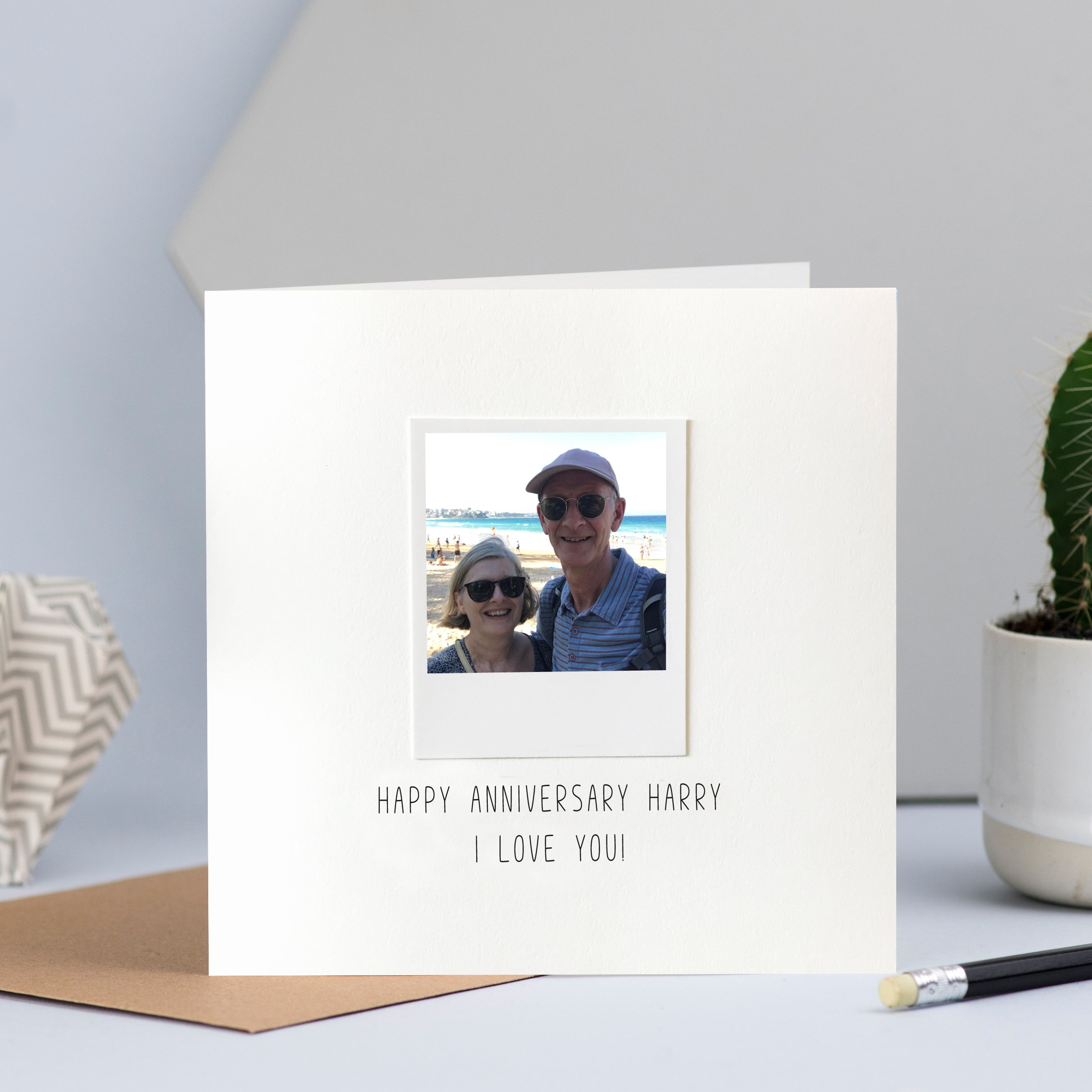 Wedding or Anniversary Photo Card