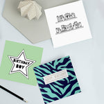Pack of male birthday cards