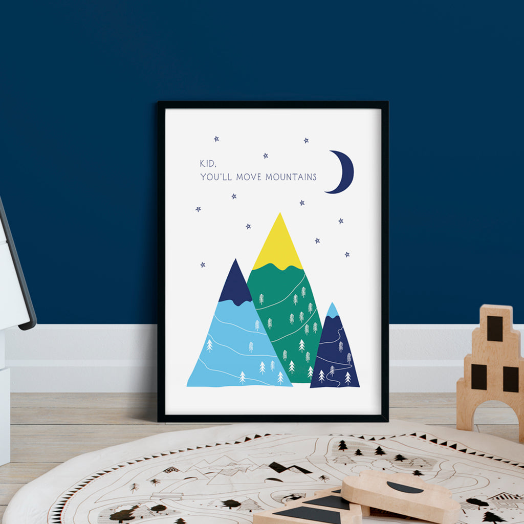Mountains Print (Unframed)