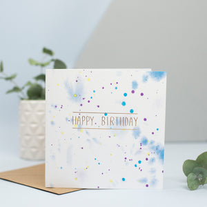 birthday card for male