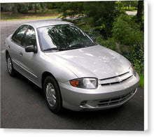 2003 Chevy Cavalier Passager Side Front - Canvas Print