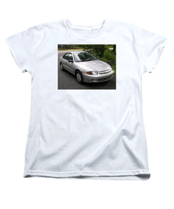 2003 Chevy Cavalier Passager Side Front - Women's T-Shirt (Standard Fit)
