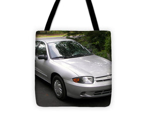 2003 Chevy Cavalier Passager Side Front - Tote Bag