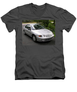 2003 Chevy Cavalier Passager Side Front - Men's V-Neck T-Shirt