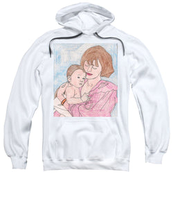 A Mother Holding Her Son - Sweatshirt