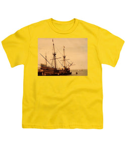 A Small Old Clipper Ship - Youth T-Shirt