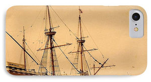 A Small Old Clipper Ship - Phone Case