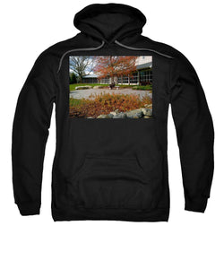 Abraham Lincoln Sitting On A Bench - Sweatshirt