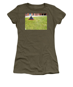 Are There Enough Cannonballs - Women's T-Shirt (Athletic Fit)