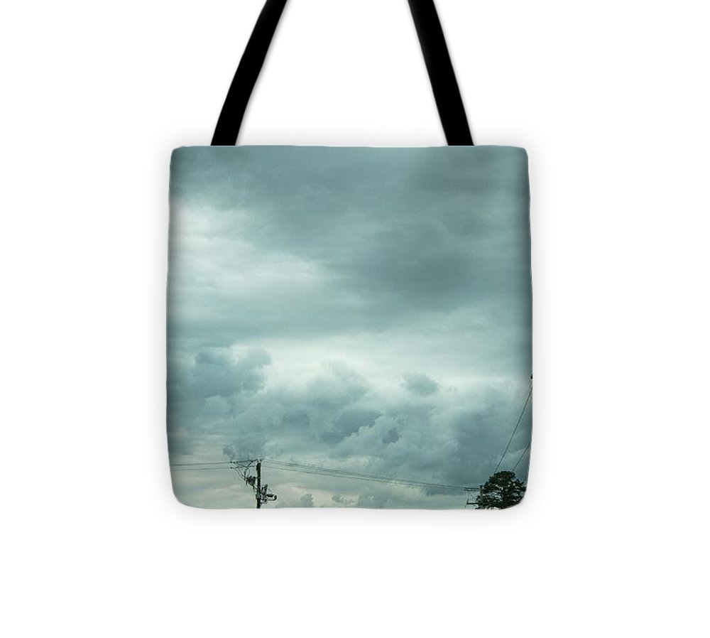 Artwork In Clouds From God - Tote Bag