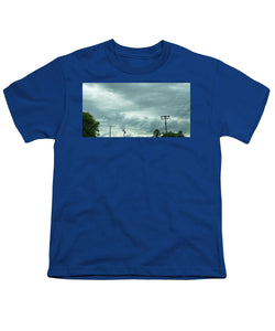 Artwork In Clouds From God - Youth T-Shirt