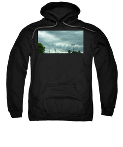 Artwork In Clouds From God - Sweatshirt