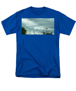 Artwork In Clouds From God - Men's T-Shirt  (Regular Fit)