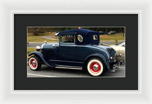 Beautiful Classic Car - Framed Print