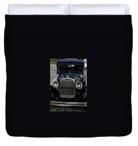 Beautiful Classic Car Front View - Duvet Cover