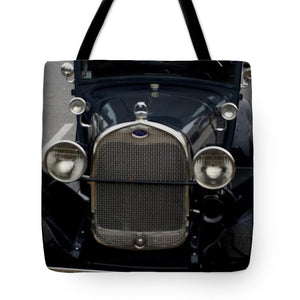 Beautiful Classic Car Front View - Tote Bag