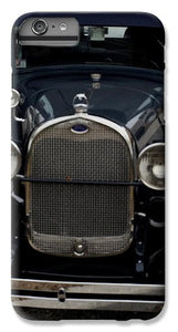 Beautiful Classic Car Front View - Phone Case