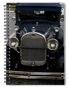 Beautiful Classic Car Front View - Spiral Notebook
