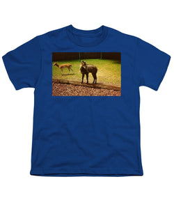 Billy Goat Keeping Lookout - Youth T-Shirt