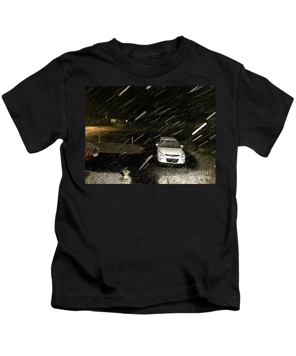 Blizzard In Delaware - Kids T-Shirt