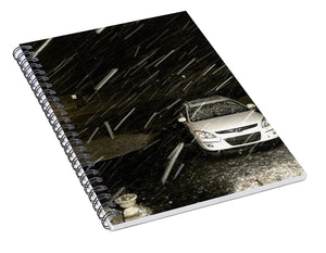 Blizzard In Delaware - Spiral Notebook