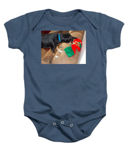 Looking For His Gifts - Baby Onesie