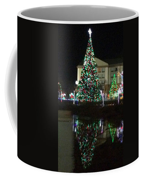 Christmas Tree Reflection - Mug