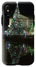 Christmas Tree Reflection - Phone Case