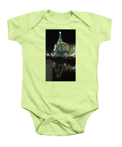 Christmas Tree Reflection - Baby Onesie