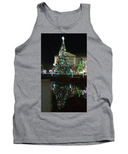Christmas Tree Reflection - Tank Top