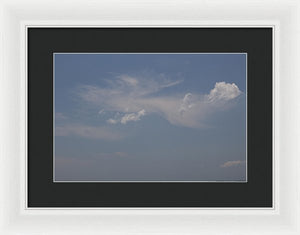Clouds From Heaven - Framed Print