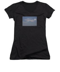 Clouds From Heaven - Women's V-Neck (Athletic Fit)