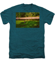 Duck Family Getting Back From Pond - Men's Premium T-Shirt
