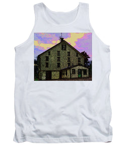 Dwight D. Eisenhower Barn In Gettysburg In Draw Form - Tank Top