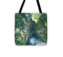 Eel Waiting To Snatch Something For Lunch - Tote Bag