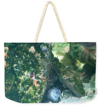 Eel Waiting To Snatch Something For Lunch - Weekender Tote Bag