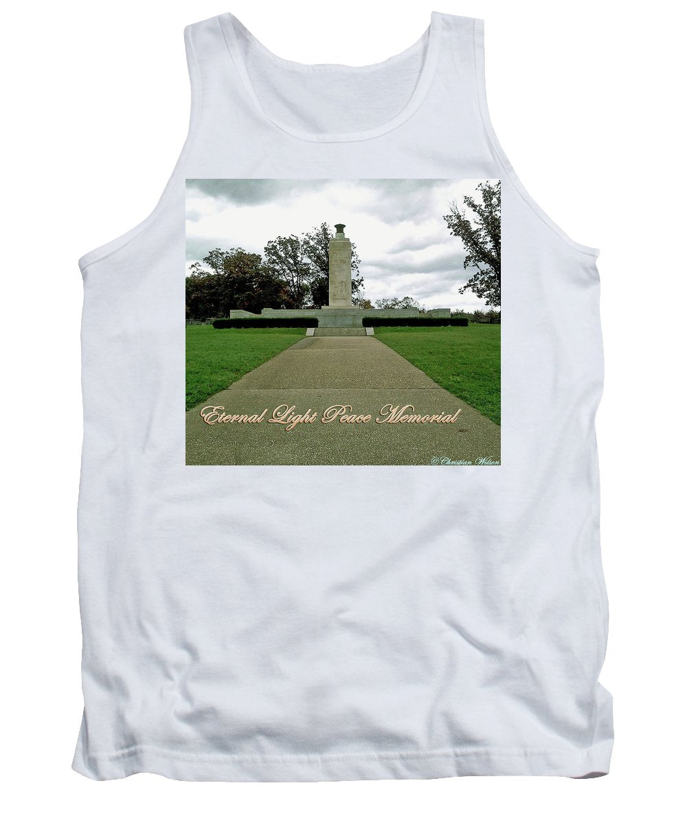 Eternal Light Peace Memorial 2 - Tank Top