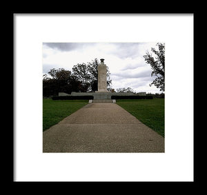 Eternal Light Peace Memorial - Framed Print