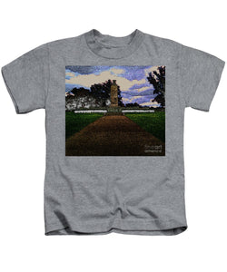Eternal Light Peace Memorial In Draw Form - Kids T-Shirt