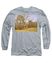 Old Haunted Tree - Long Sleeve T-Shirt