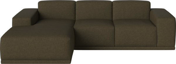 Zoe 3-Sitzer Sofa mit Chaiselongue Links