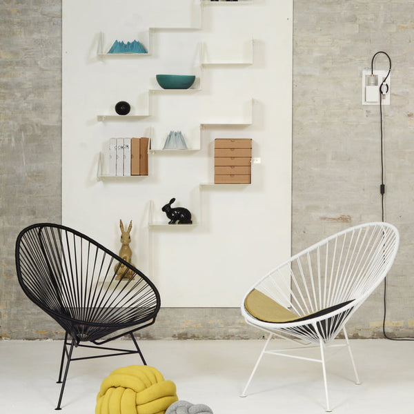 The Acapulco Chair, schwarz