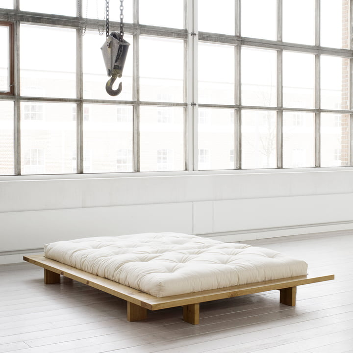 SALE - *AS NEW* Japan Bett 140 x 200 cm, honey