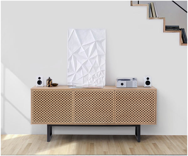 Design-Sideboard Camden in Holzoptik