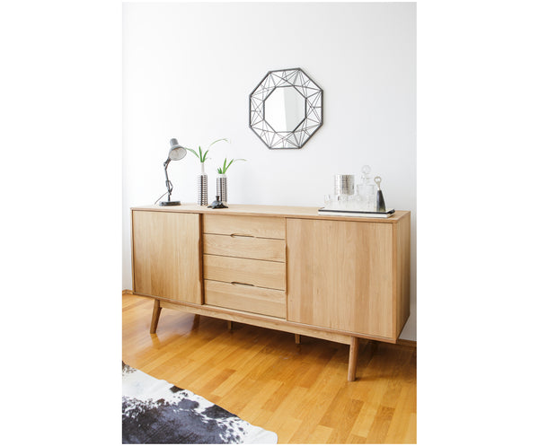 Sideboard Bettina mit Eichenholzfurnier