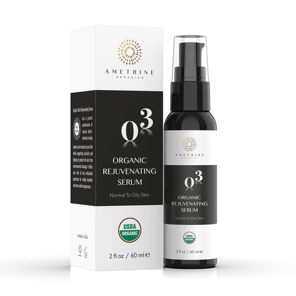 Organic Rejuvenating Serum with Box