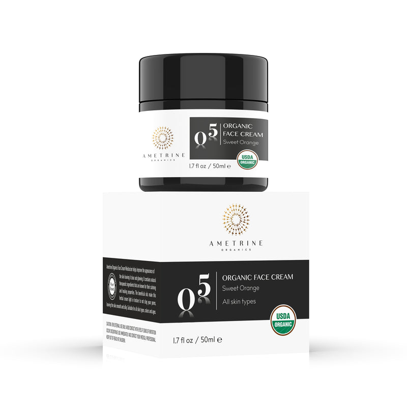Organic Face Cream with Box