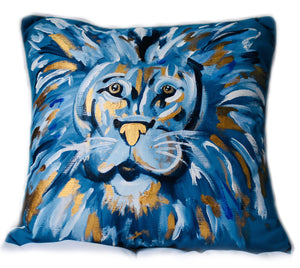 David the Lion Pillow